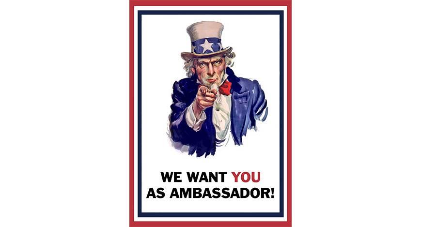 Voltes ambassadeurs gezocht!