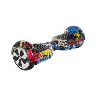 Hoverboard Hoverboard Graffiti Zwart 6,5 inch