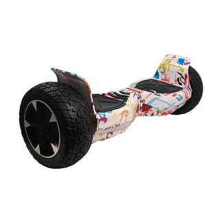 Off Road Hoverboard Graffiti White 8,5 inch