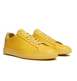 Clae Ochre Full grain Leather