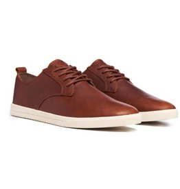 Clae Ellington Leather Chestnut