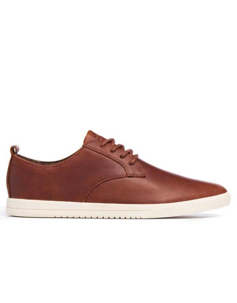 Clae Ellington Leather Chestnut