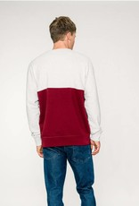 Rotholz Divided Sweater Cream/red