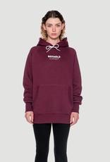 Rotholz Logo hoodie Burgundy