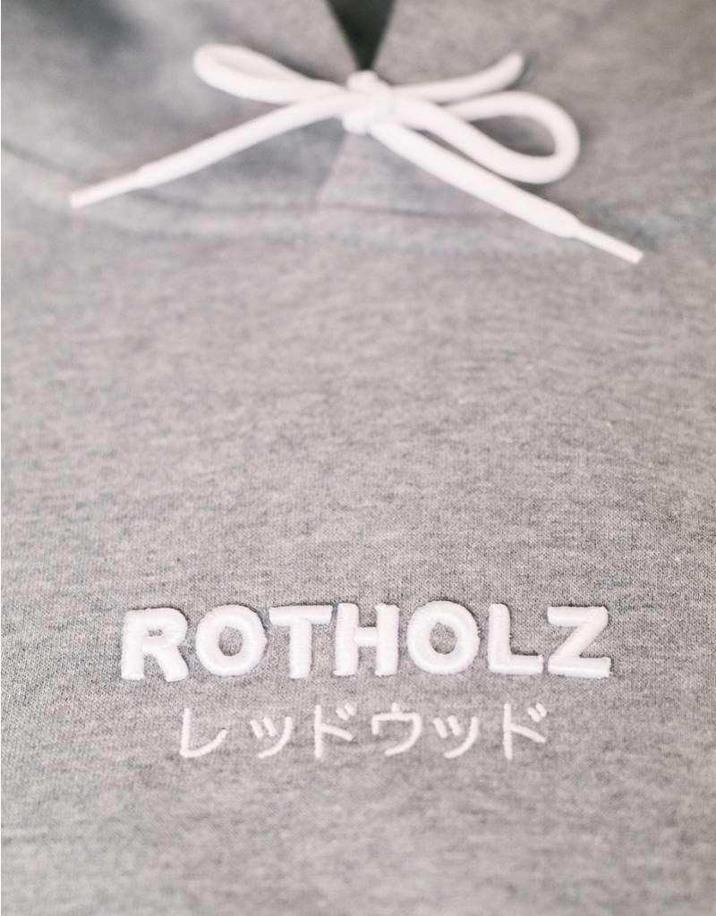 Rotholz Logo Hoodie Light heather