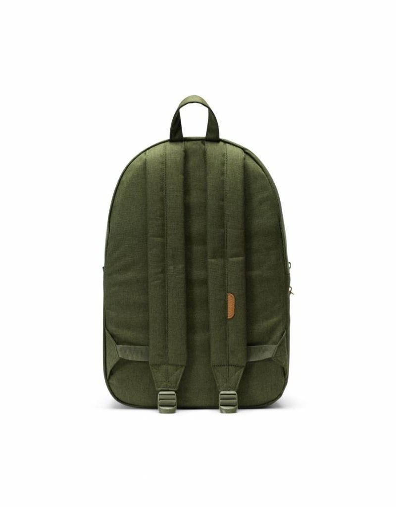 Herschel Settlement Olive Night Crosshatch