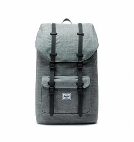 Herschel Little America Raven Crosshatch/Black