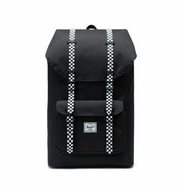 Herschel Little America Black/Checkerboard