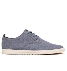 Clae Ellington Textile Navy Chambray