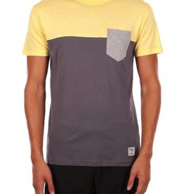 Iriedaily Block Pocket Tee - Lemonade
