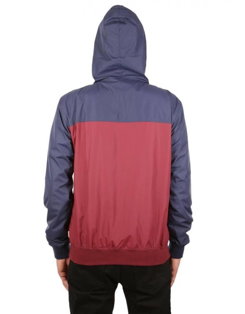 Iriedaily Auf Deck Jacket - Navy Red