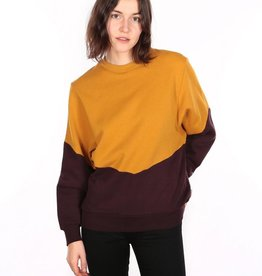 Iriedaily Luv Sweat - Gold aubergine