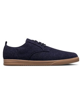 Clae Ellington Textile Navy/Tobacco