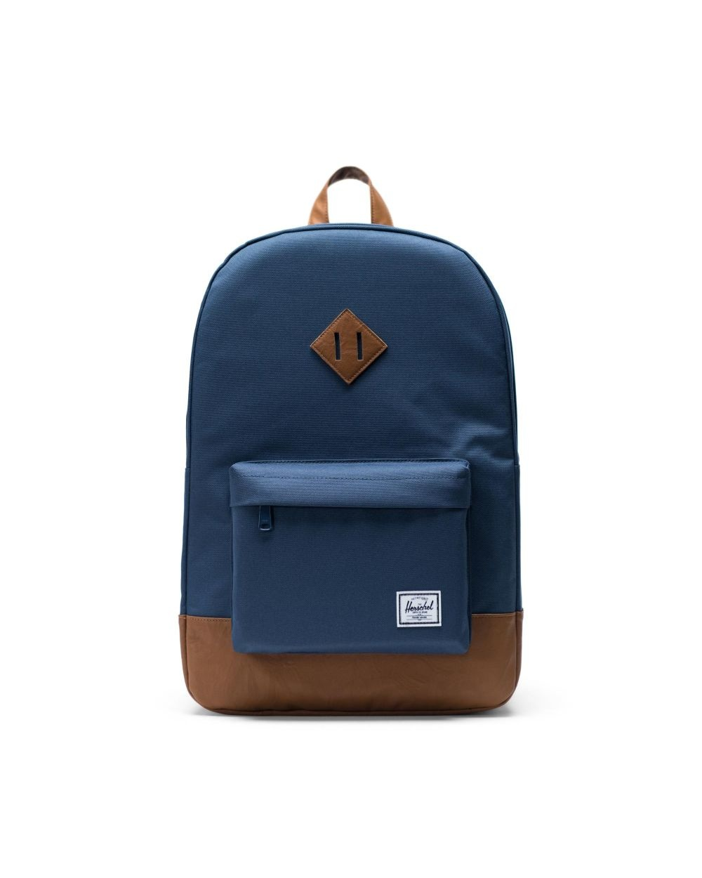 Heritage Navy/Tan Synthetic Leather-1