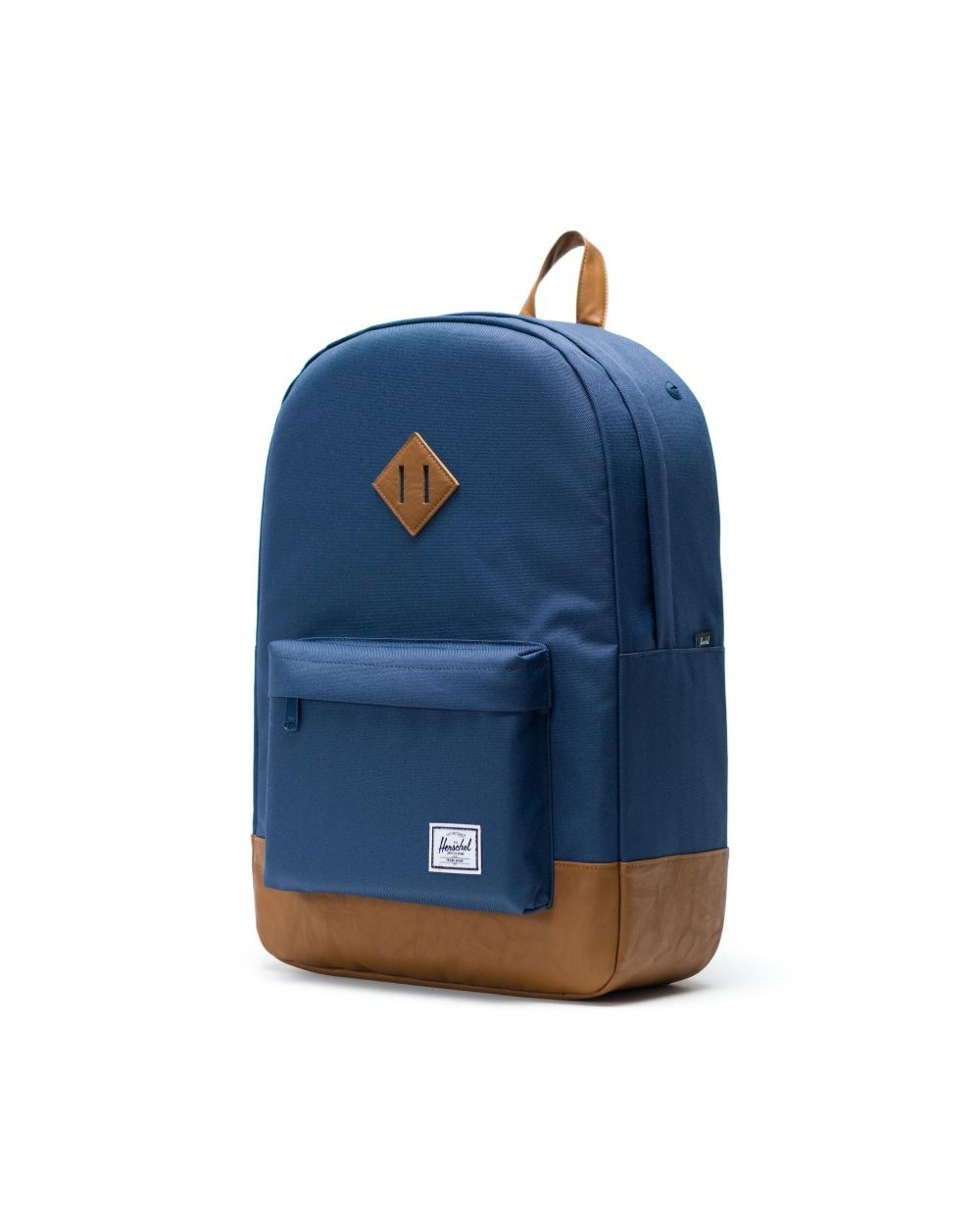 Heritage Navy/Tan Synthetic Leather-3