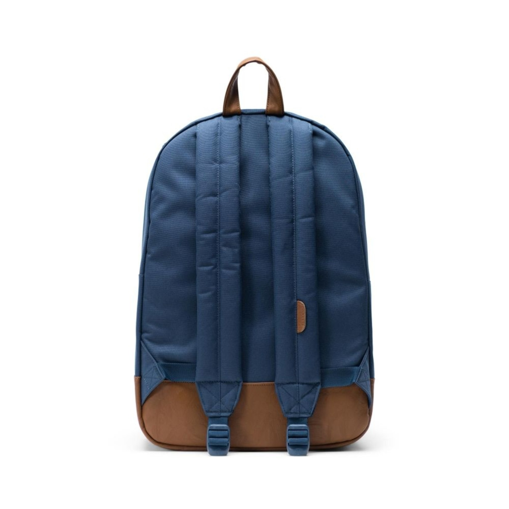 Herschel Heritage Navy/Tan Synthetic Leather