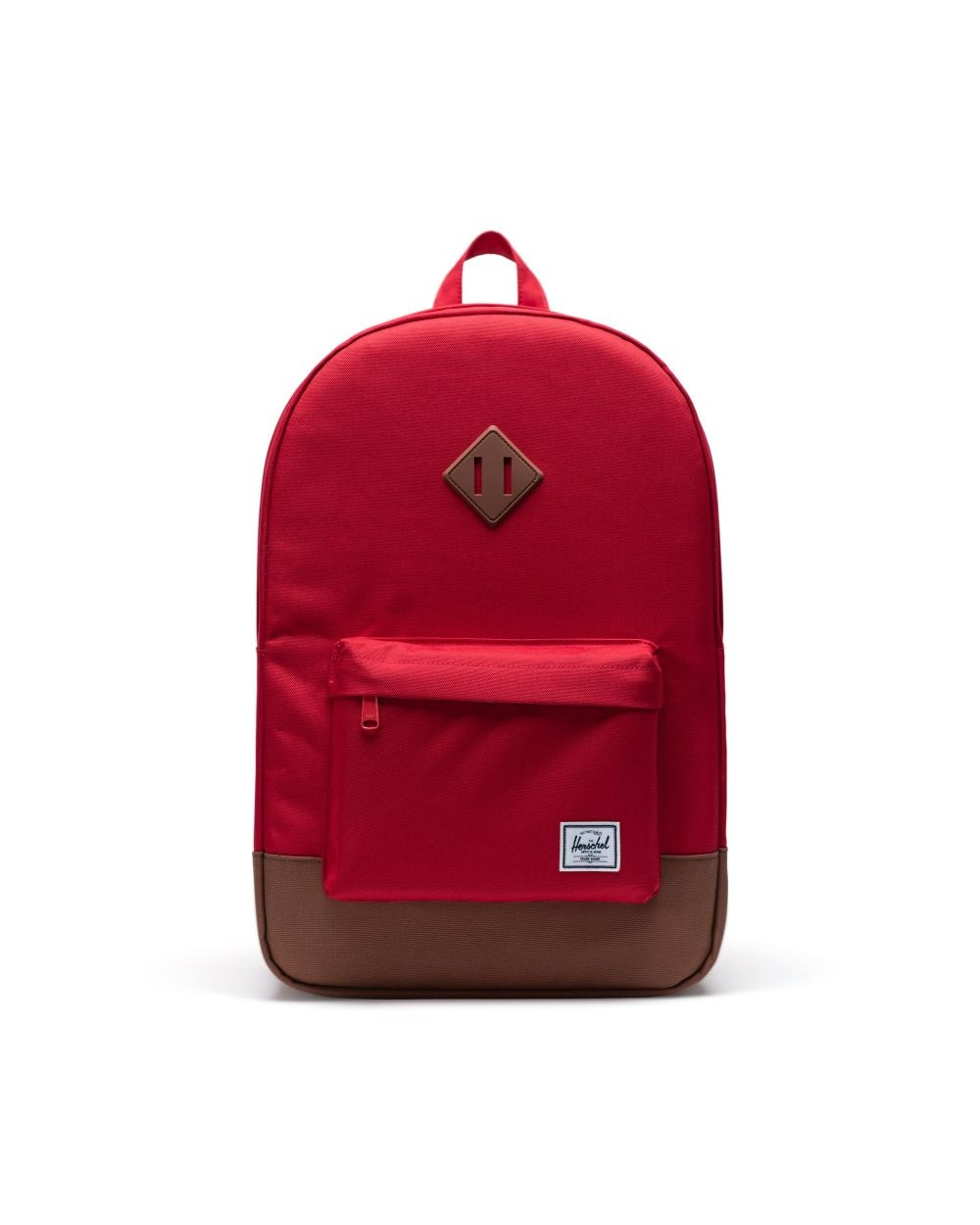 Herschel Heritage Red/Saddle brown