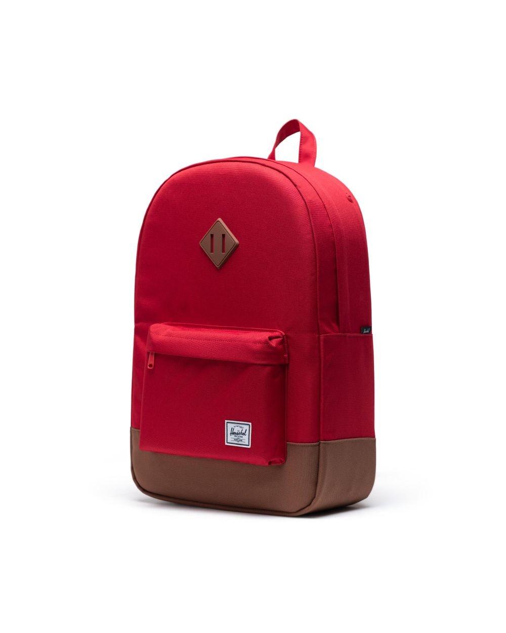 Heritage Red/Saddle brown-3