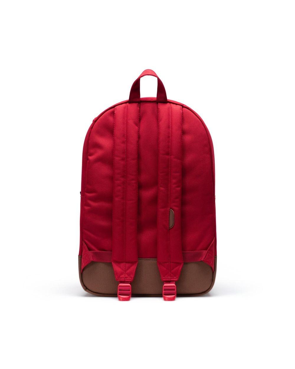 Heritage Red/Saddle brown-4