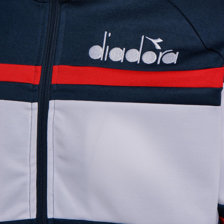 Diadora Jacket 80's Blue denim / White