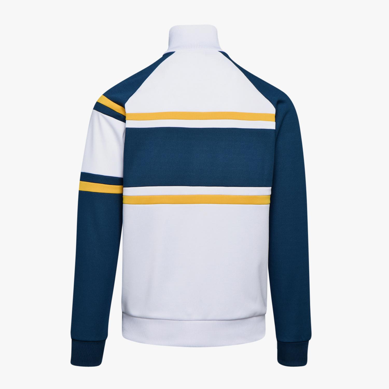Diadora Jacket 80's White/Teal blue