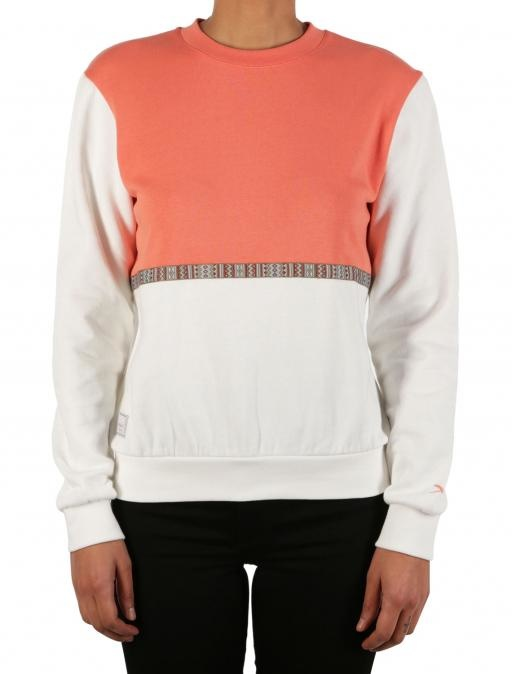 Iriedaily Kachina sweat Coral