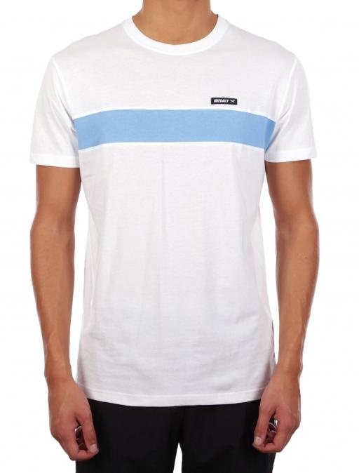 Iriedaily Simple stripe tee White