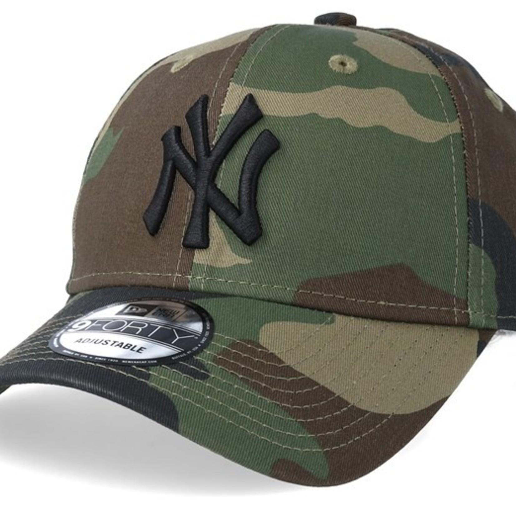 New Era NY 9Forty Camo/Black adjustable