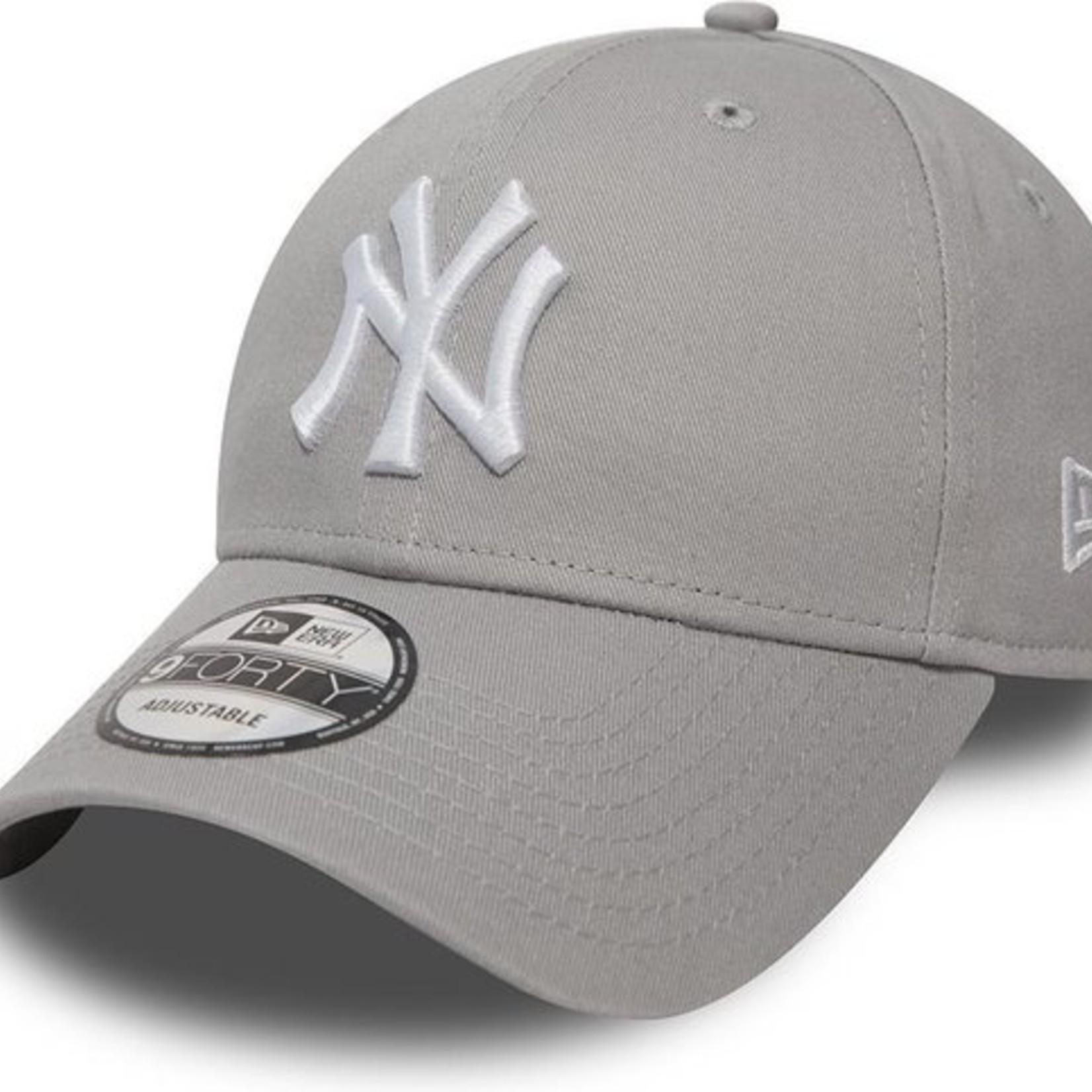 New Era NY 9Forty Grey/White adjustable