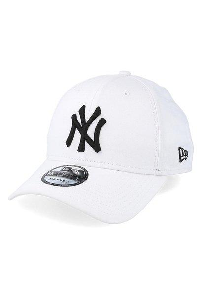 NY 9FORTY WHITE/BLACK