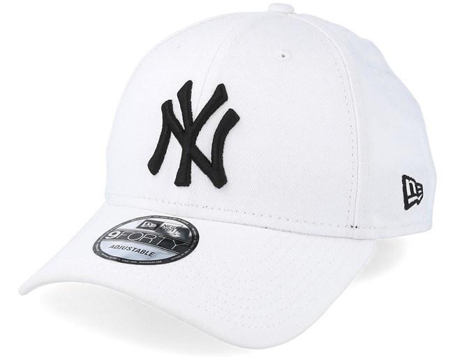 NY 9Forty White/Black adjustable-1