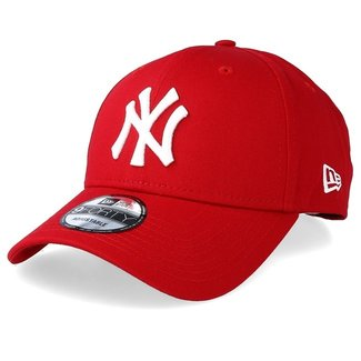 New Era NY 9FORTY RED/WHITE