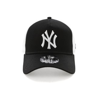 New Era NY 9FORTY TRUCKER BLACK/WHITE