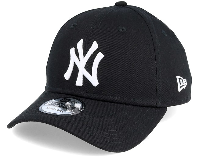 NY 9Forty Black/White adjustable-1