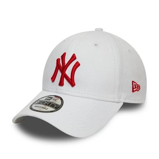 New Era NY 9FORTY WHITE/RED