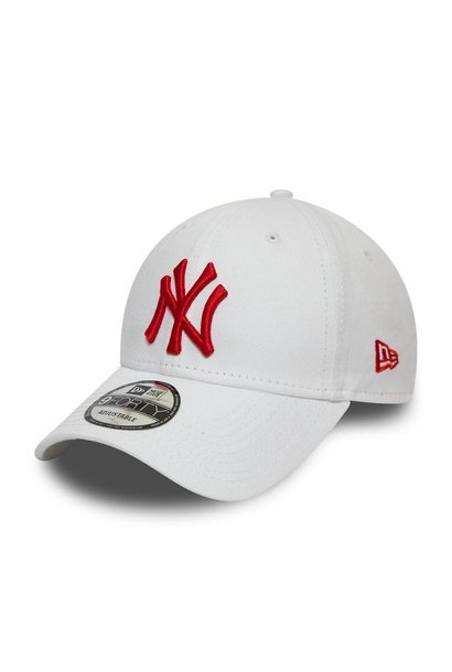NY 9FORTY WHITE/RED