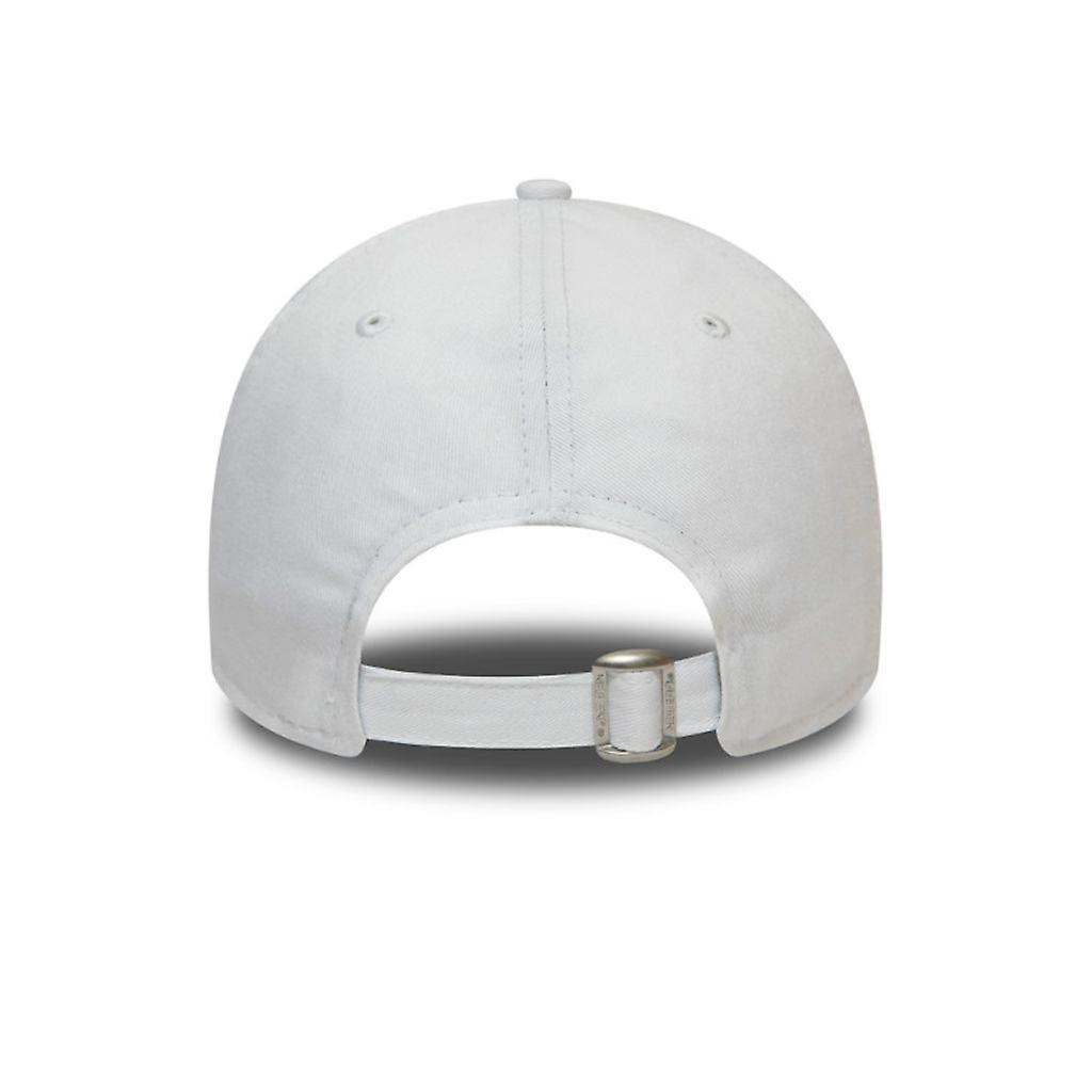 NY 9Forty White/Red adjustable-3