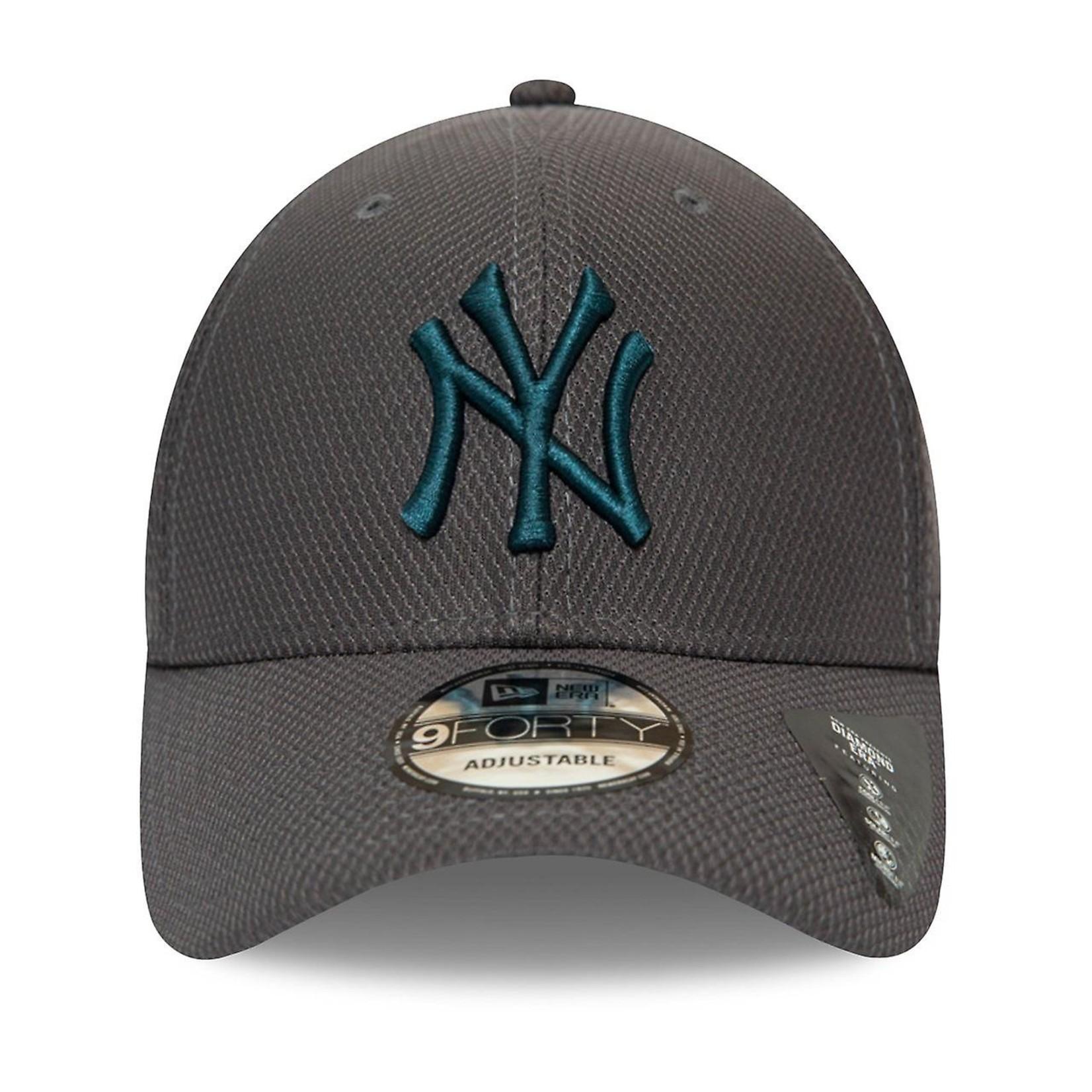 New Era NY 9Forty Diamond Era Grey