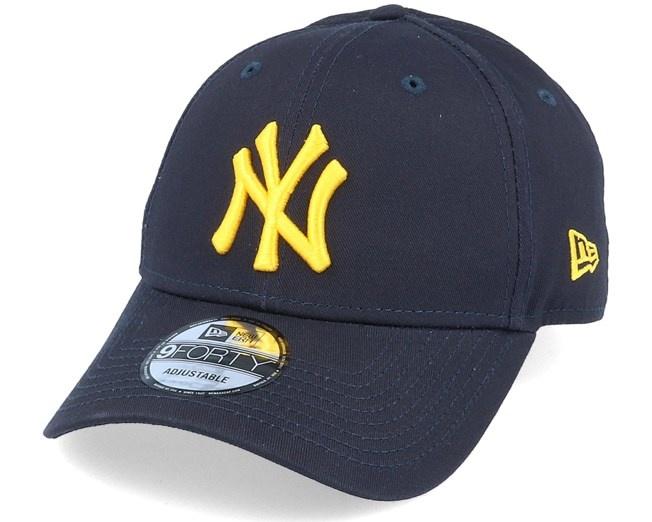 NY 9Forty Navy/Yellow adjustable-1