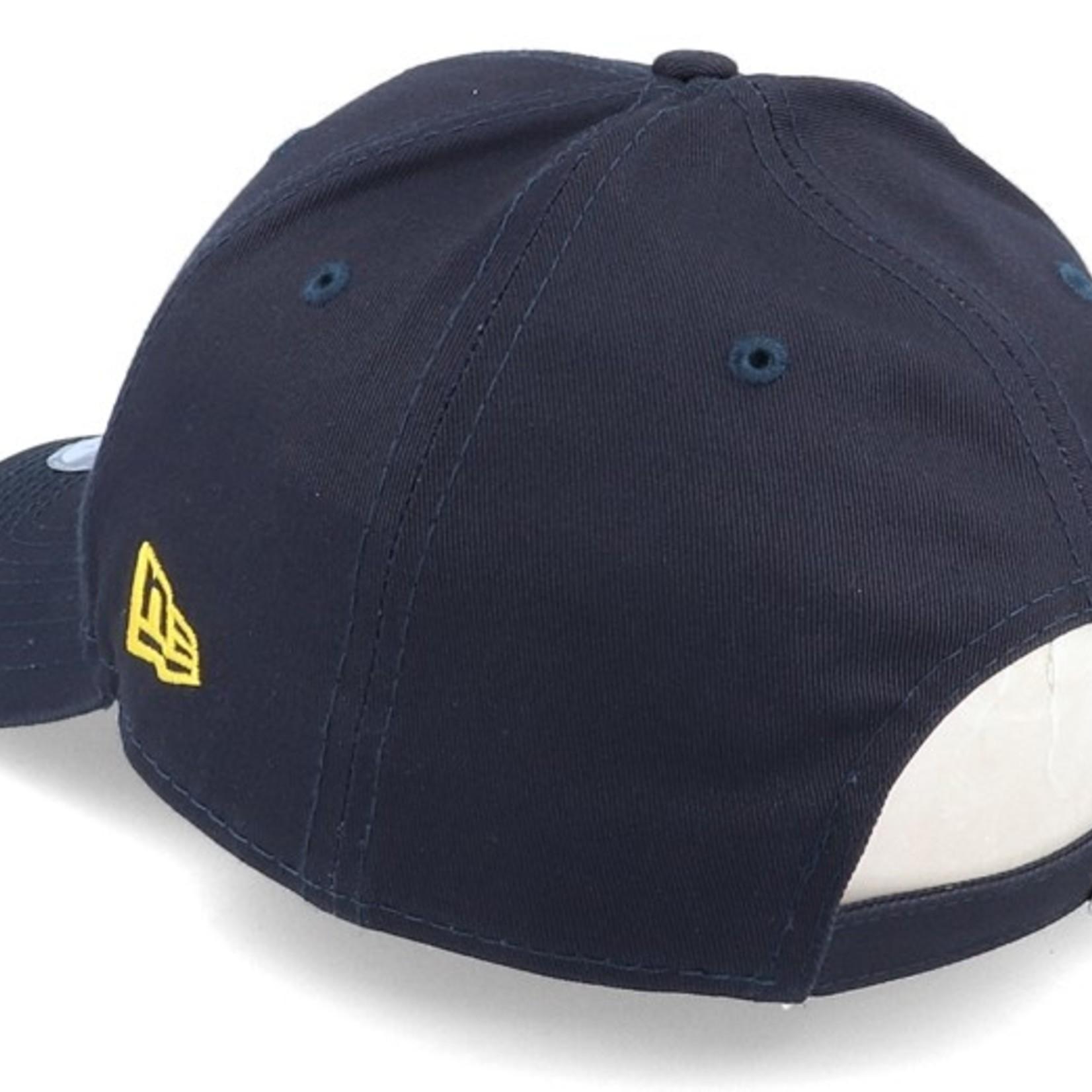 New Era NY 9Forty Navy/Yellow adjustable