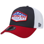 New Era STAR PATCH TRUCKER NAVY/RED