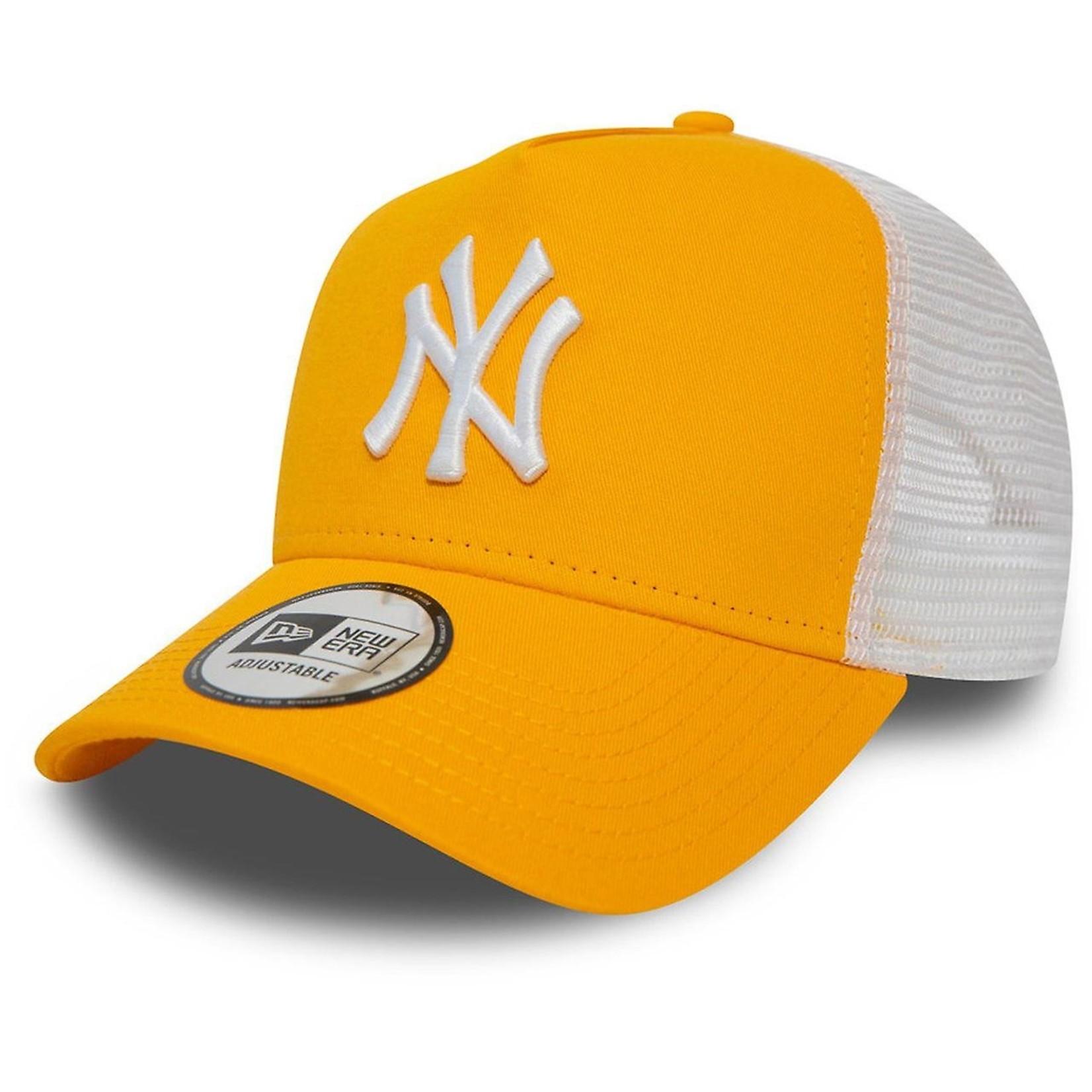 New Era NY Trucker Yellow/White adjustable