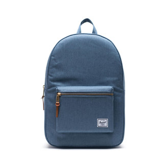 Herschel Settlement Mid-Volume Blue Mirage Crosshatch