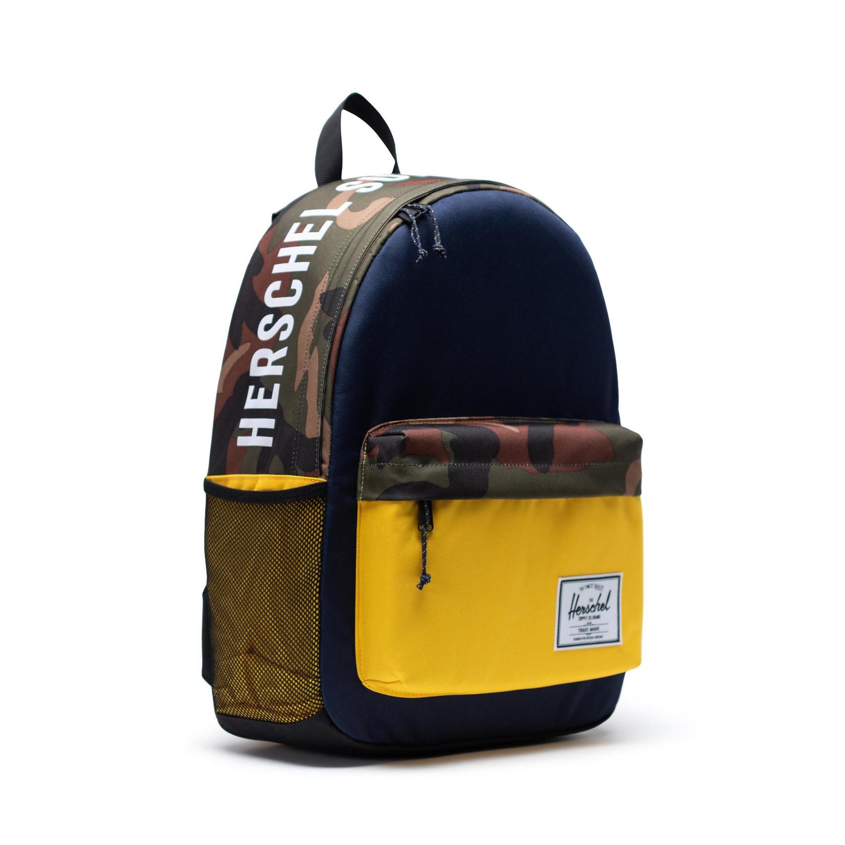 Herschel Athletics I Classic X-Large Peacoat/Woodland camo/Lemon chrome