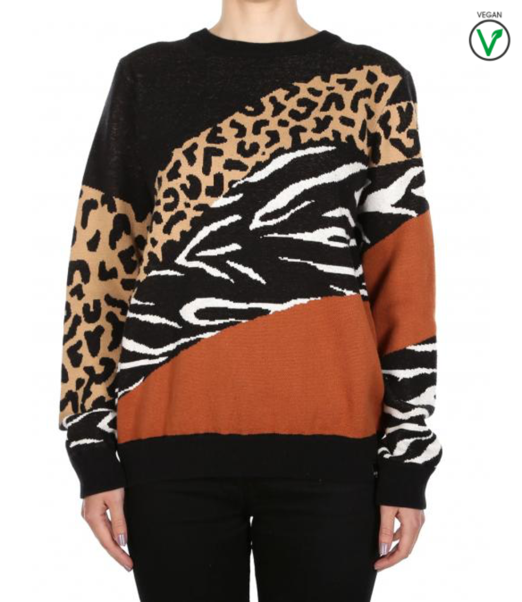 Rudy Knit Leo Brown-1