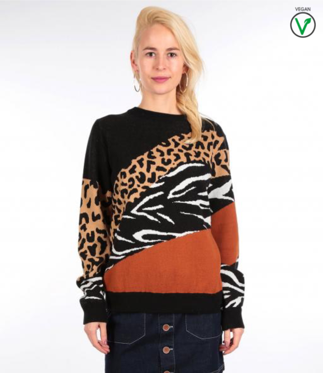 Rudy Knit Leo Brown-3