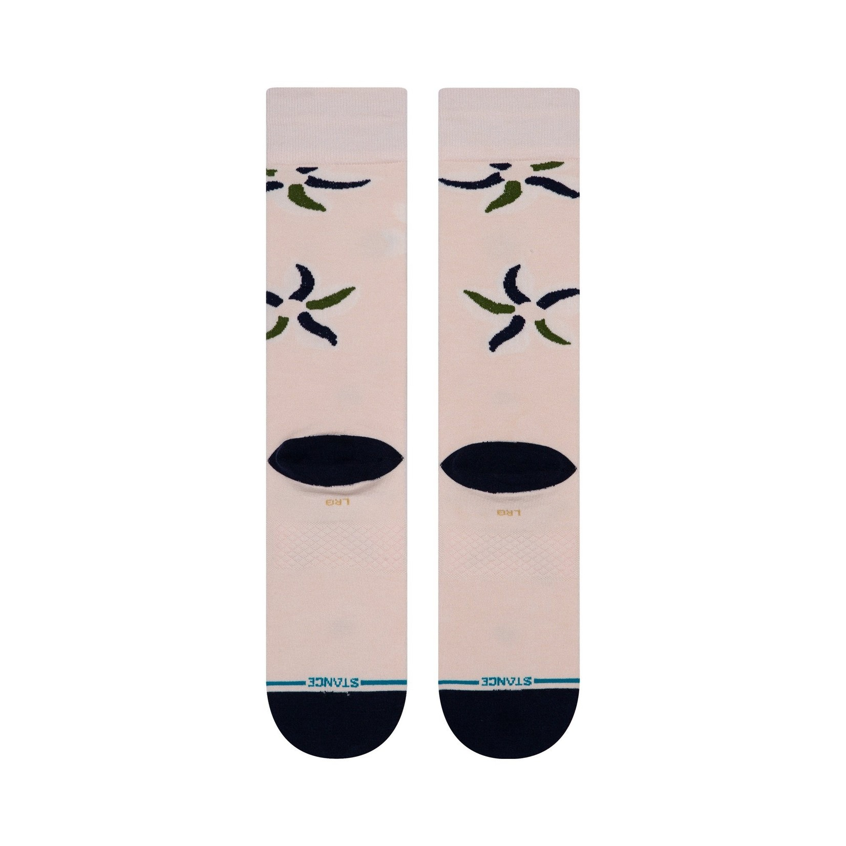 Stance Sonic Bloom Pink M