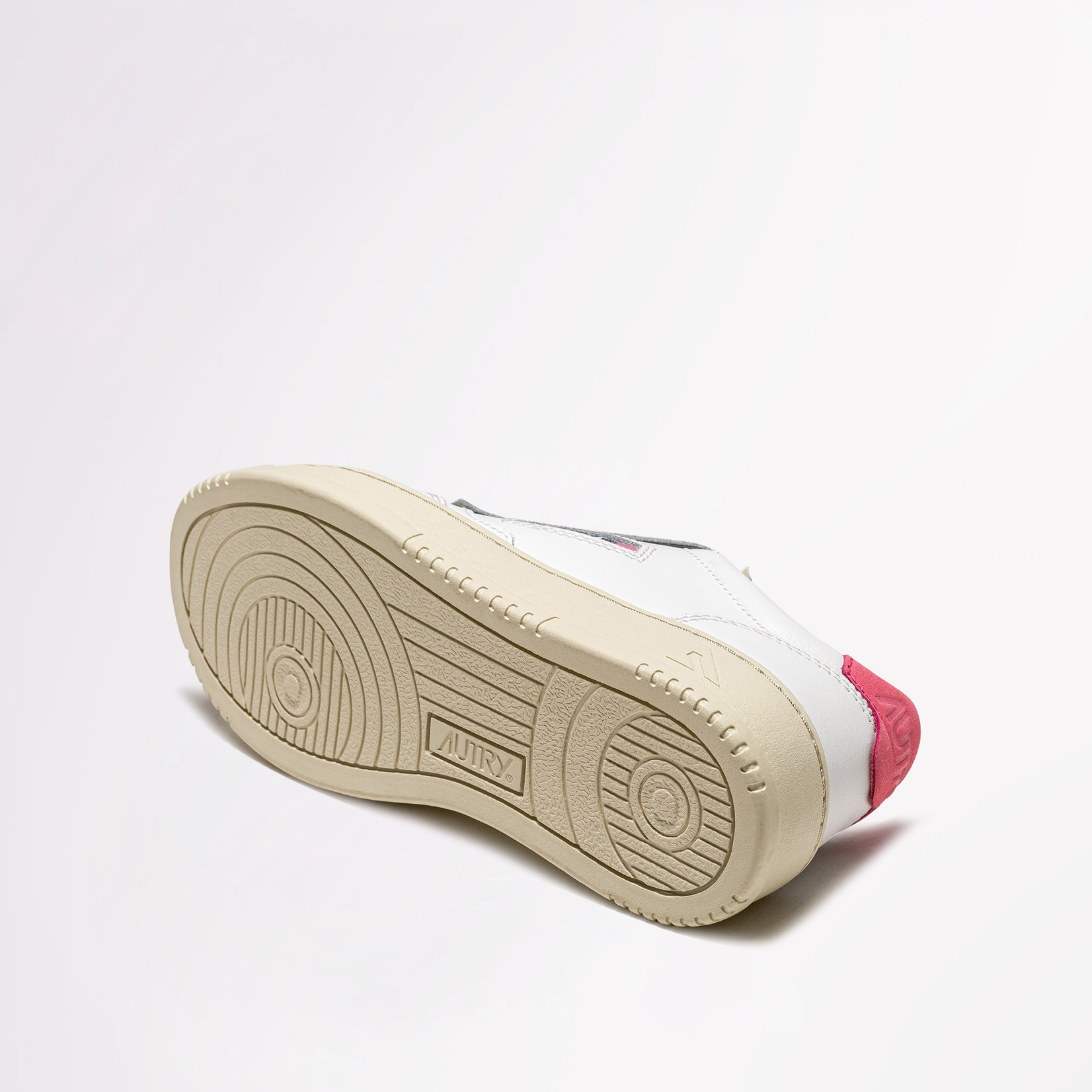 Autry Low Women Wht/Red