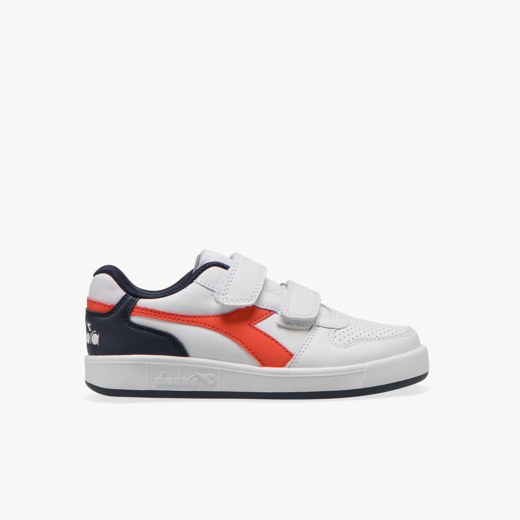Diadora Playground PS White/Fiesta