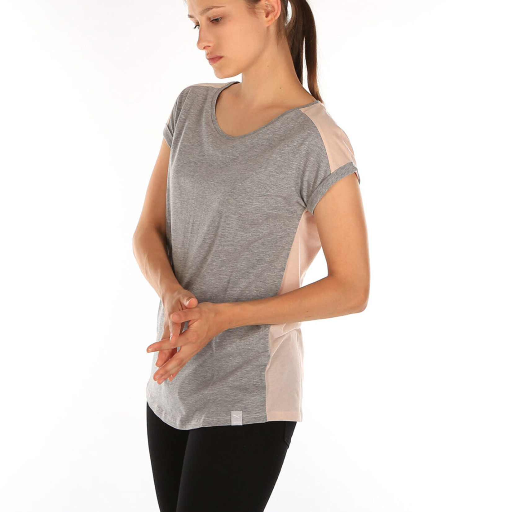 Iriedaily Backside Tee - Grey/Mel.